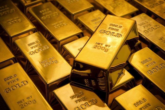 Запасы золота держат в банковских слитках
