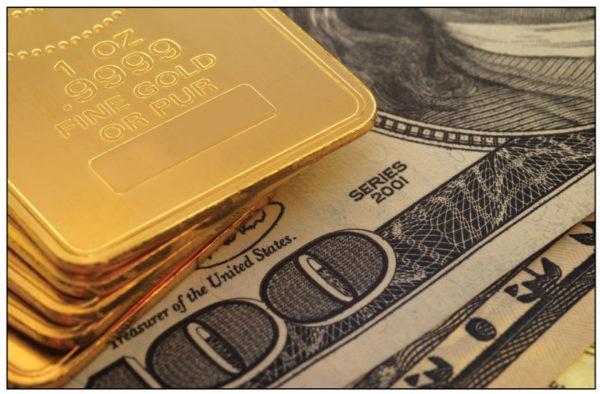 Доллары и золото отлично друг друга дополняют
