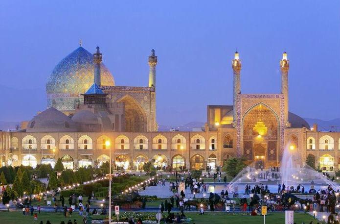 Иранская столица Тегеран