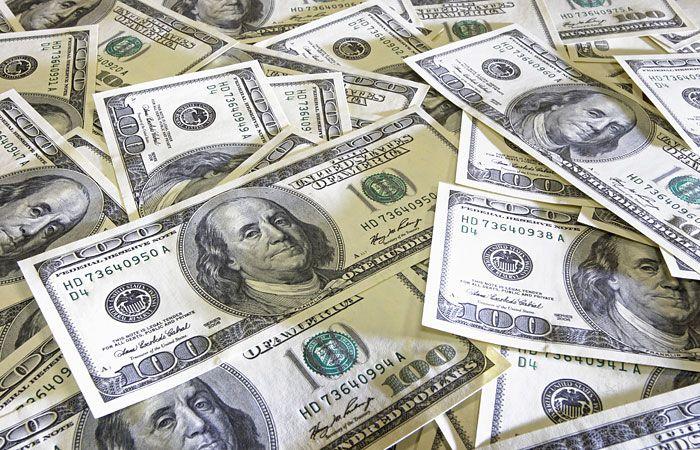 Доллары разного номинала
