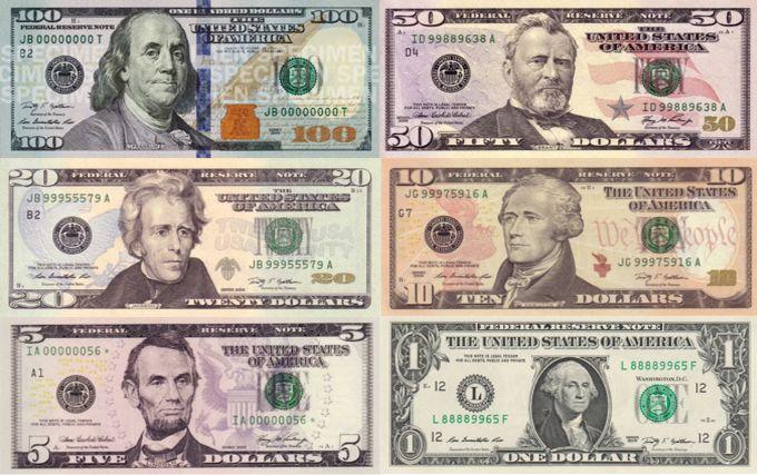 Валюта США самая востребованная в мире