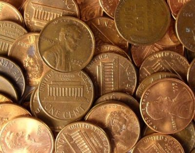 Центы США в монетах