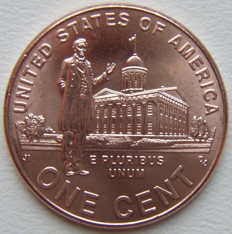 Один цент США