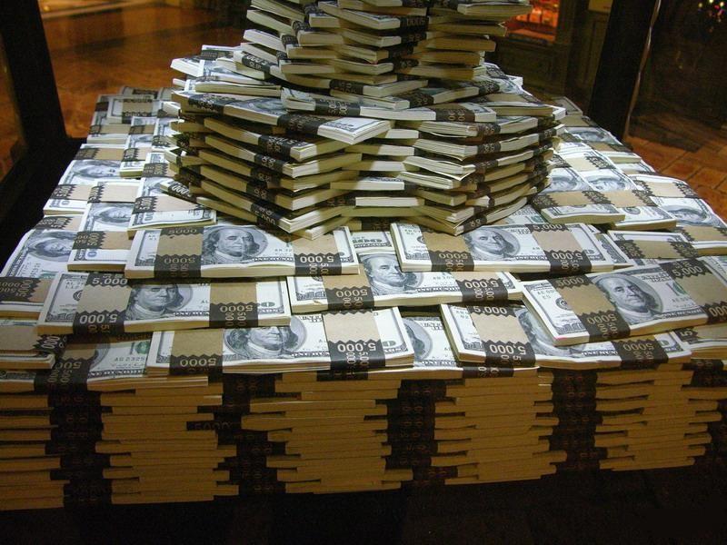Вот все эти деньги и есть миллион баксов