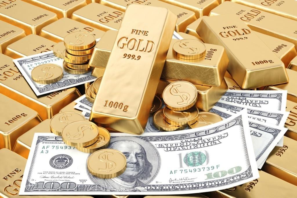 Цена золота формирует стоимость доллара
