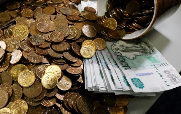 Рубль падает под давлением доллара