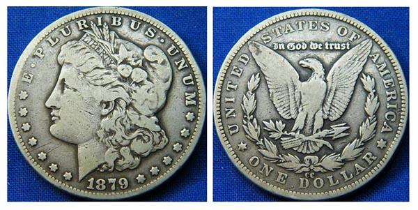 Моргановский доллар считается одним из самых ценных в коллекции