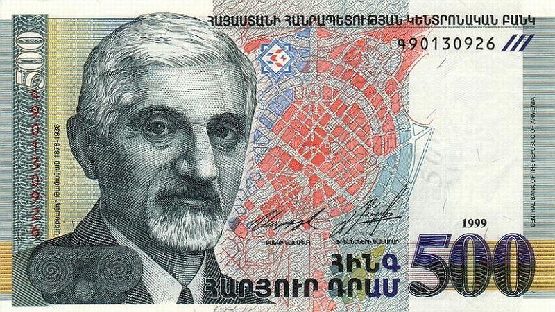 Валюта армянская